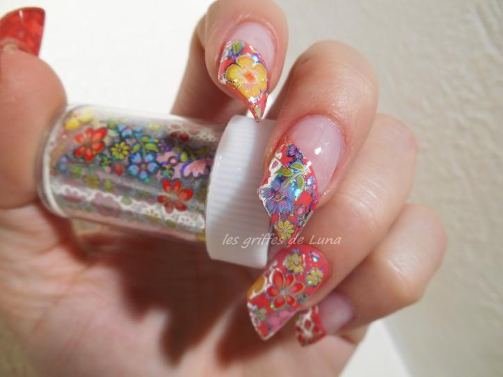 Nail art Foil printanier 1