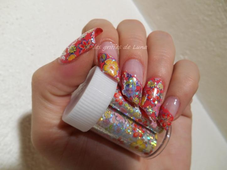 Nail art Foil printanier 2