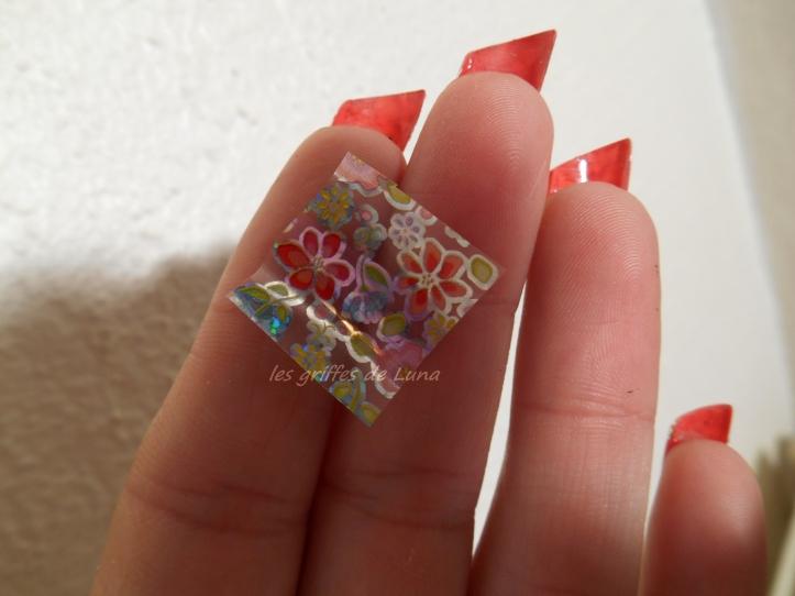 Nail art Foil printanier 3