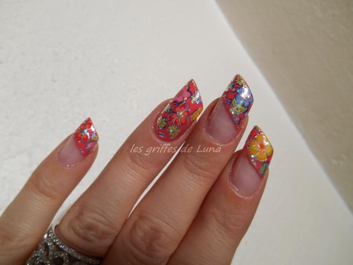 Nail art Foil printanier 4