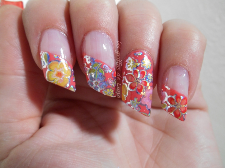 Nail art Foil printanier 5