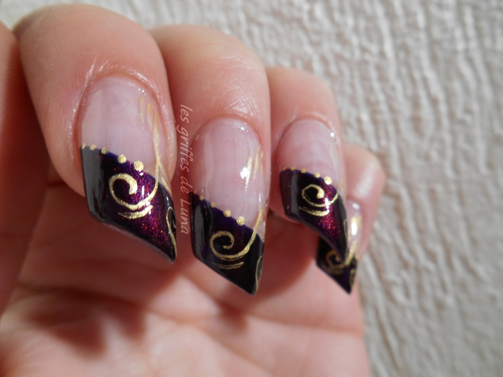 Nail art French d'hiver 2
