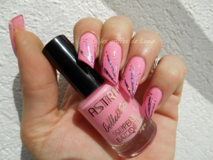 Nail art Glitter touch 2