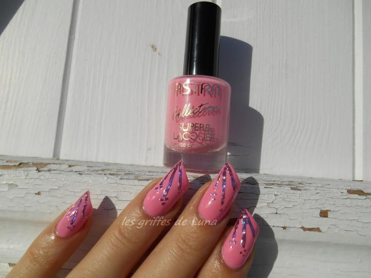 Nail art Glitter touch 3
