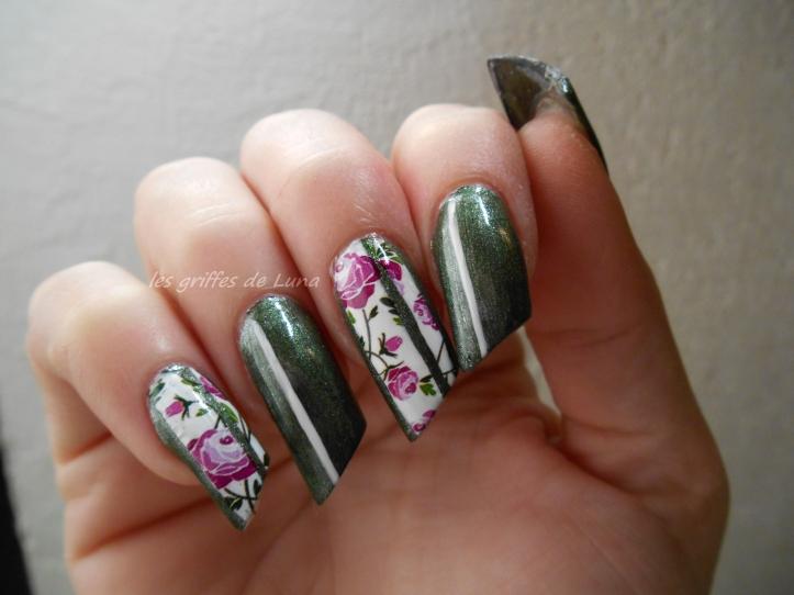 Nail art Vintage 1