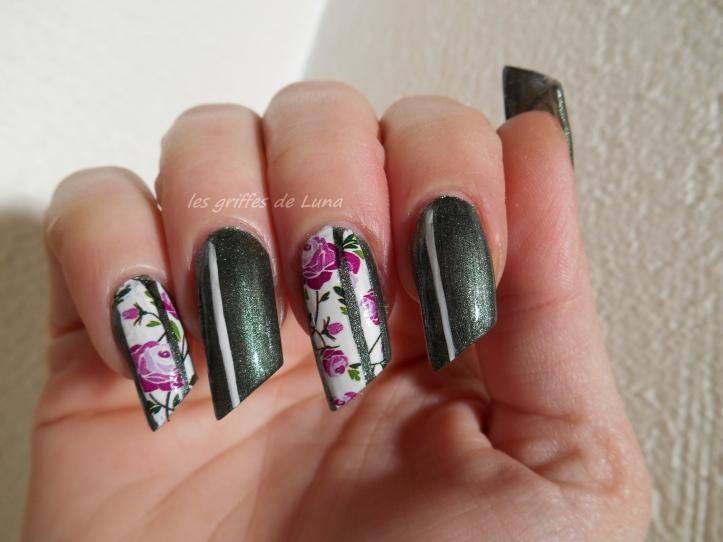 Nail art Vintage 3