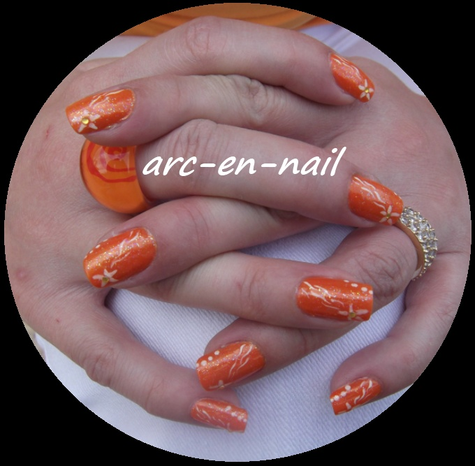 etoile filante orange 4