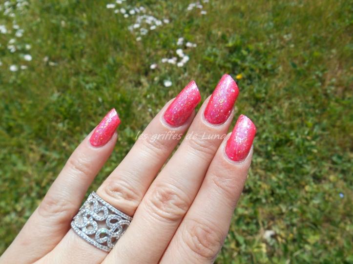 KIKO 844 & foil opal glitter 3