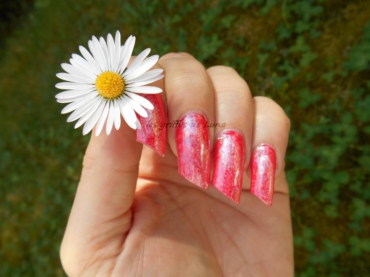 KIKO 844 & foil opal glitter 5