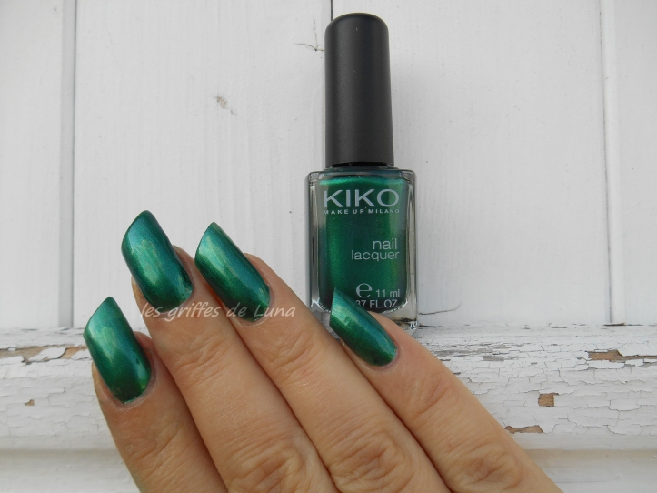 KIKO 3535 Metallic british green 1
