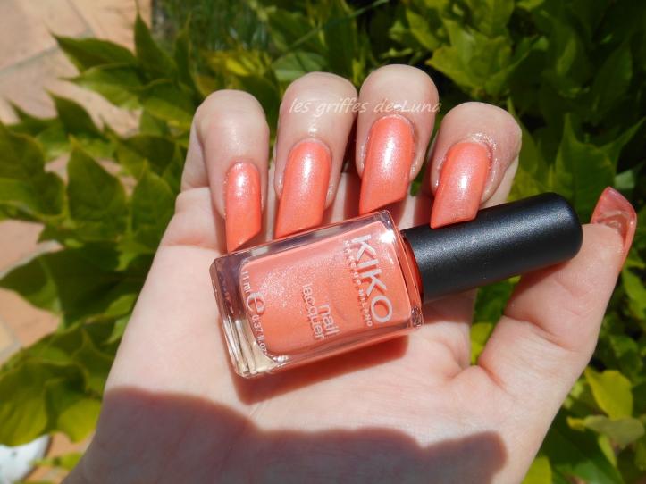 KIKO 484 Pearly peach 4