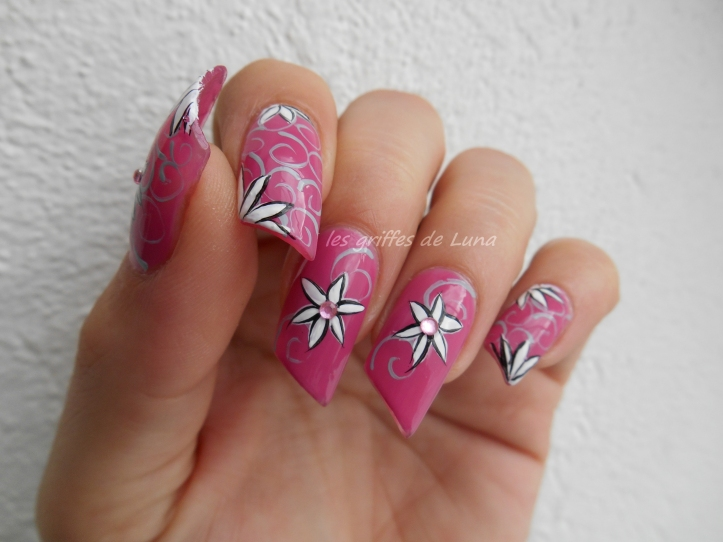 Nail art Truc sympa 2
