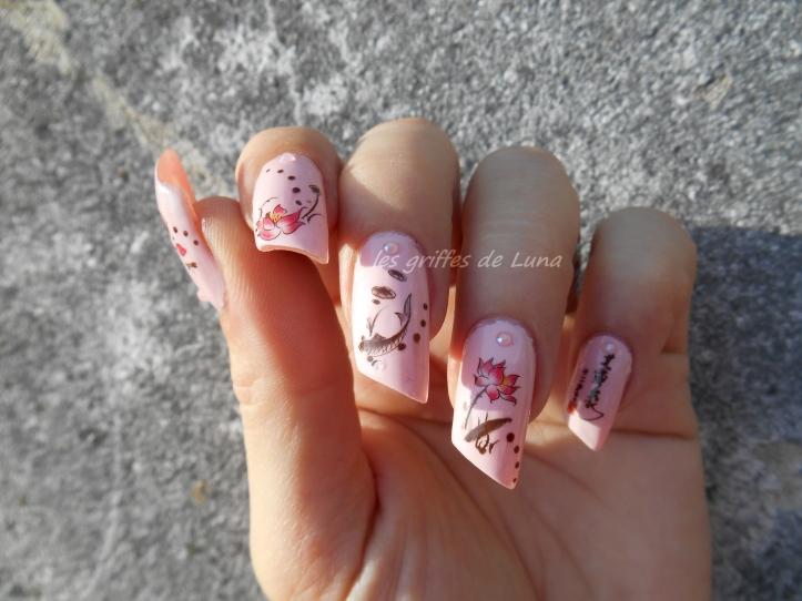 Nail art Zen 1