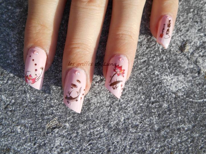 Nail art Zen 2