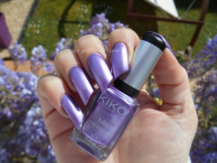 KIKO 621 Mirror violet 3