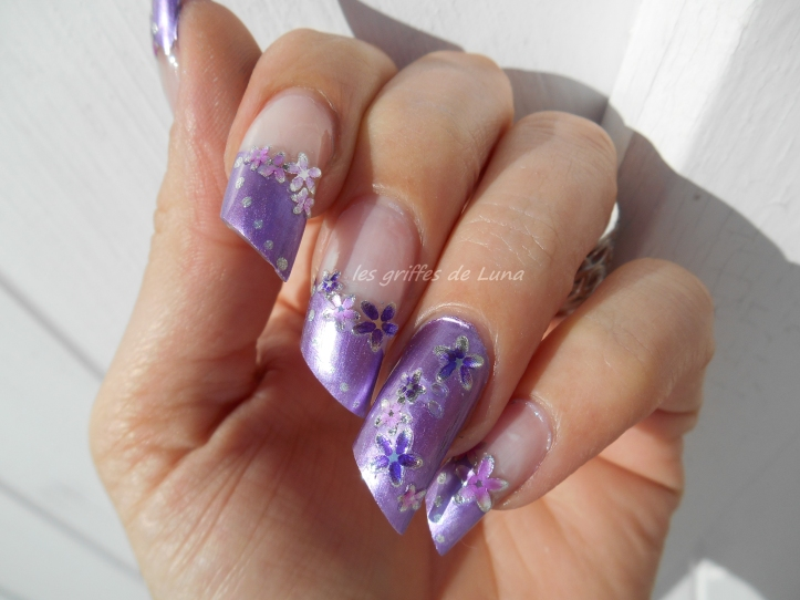 Nail art Douce french 1