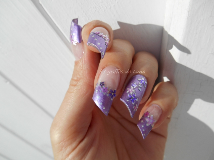 Nail art Douce french 2