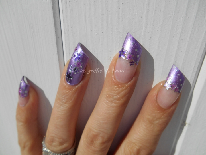 Nail art Douce french 3