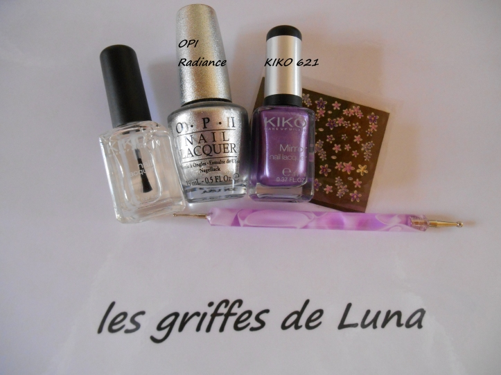 Nail art Douce french materiel