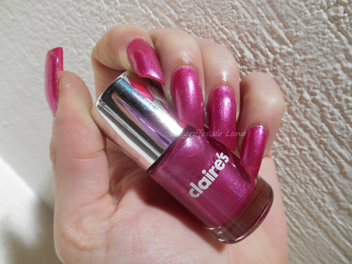CLAIRE'S Metallic Burgundy 1