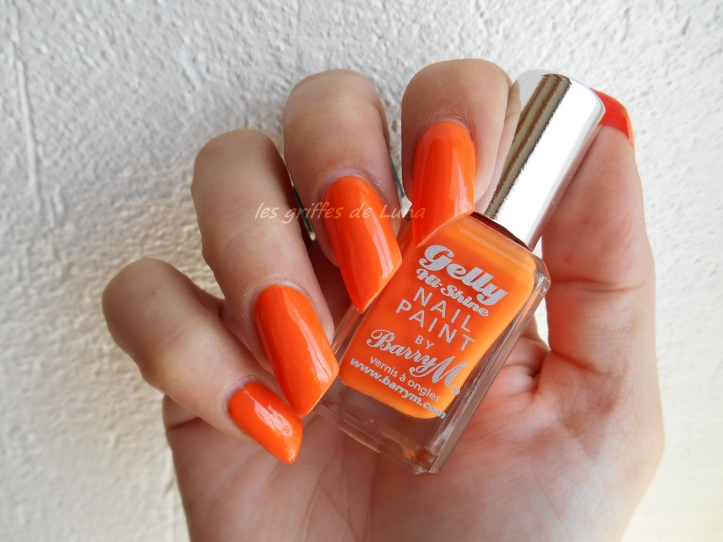 BARRY M GELLY 323 Mango 1