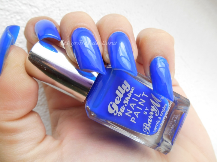 BARRY M GELLY 412 Blue grape 1