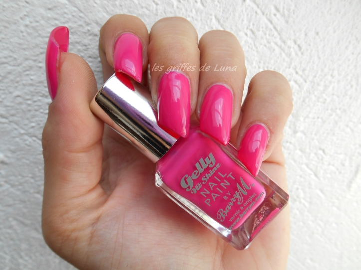 BARRY M GELLY 420 Pink punch 1