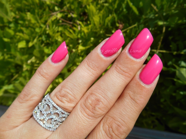 BARRY M GELLY 420 Pink punch 2
