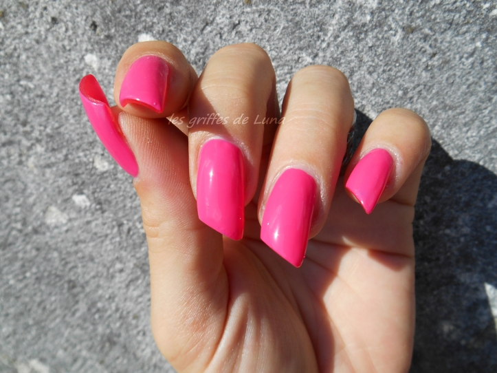 BARRY M GELLY 420 Pink punch 4