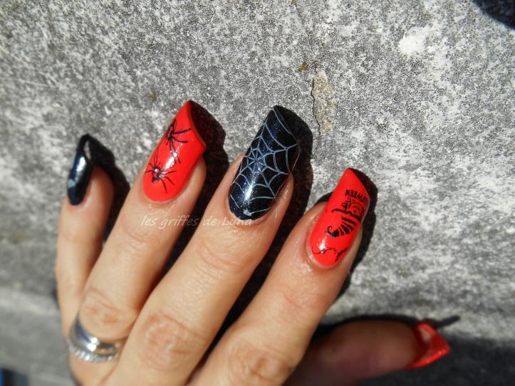 Nail art Halloween 1 1