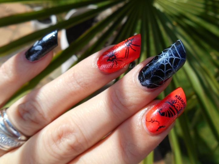 Nail art Halloween 1 2