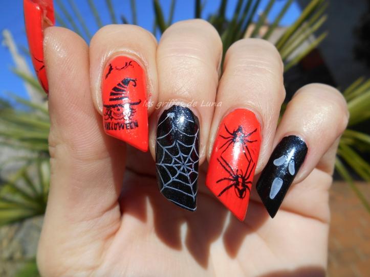 Nail art Halloween 1 3
