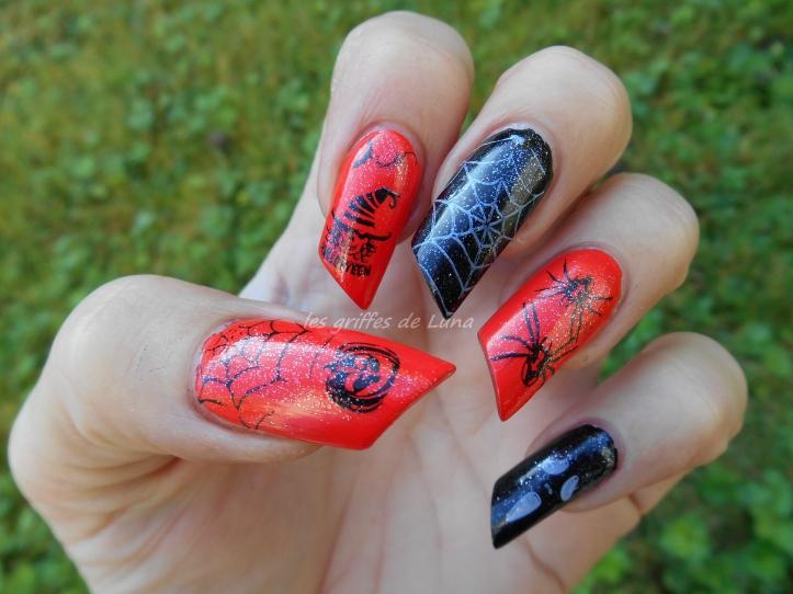 Nail art Halloween 1 4