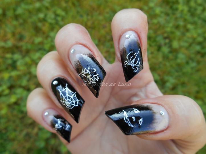 Nail art Halloween 2 4
