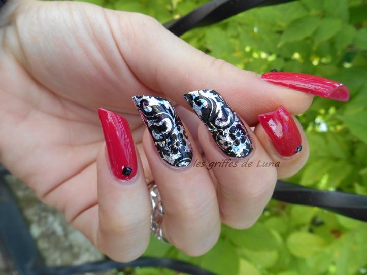 Nail art Sexy baroque 2
