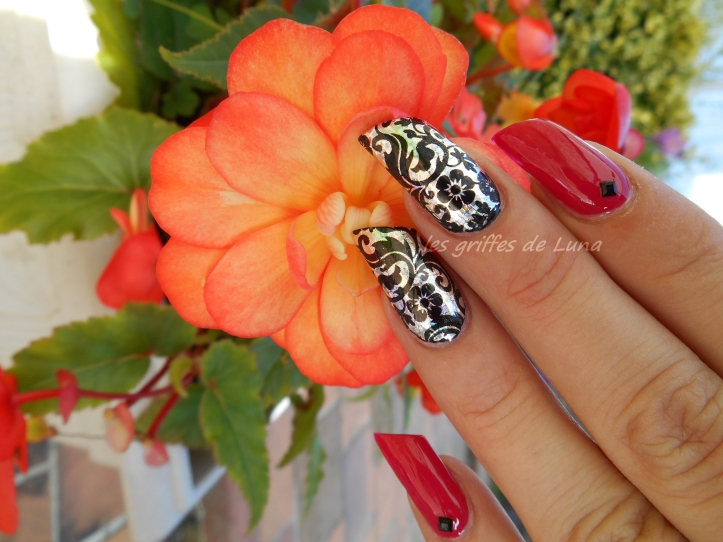 Nail art Sexy baroque 5