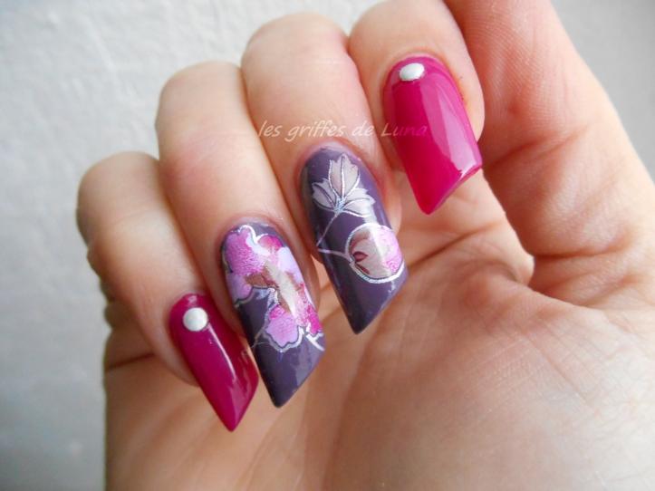 Nail art Foil automnal 1