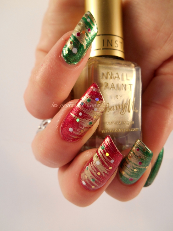 nail art Noel 1 2