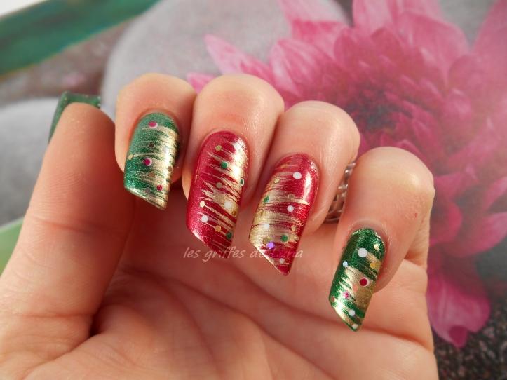 Nail art Noel 1 4