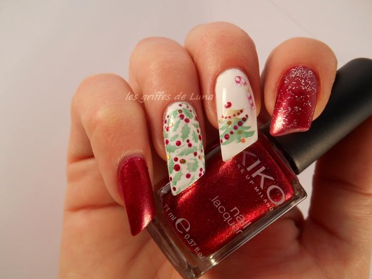 Nail art Noel 2 1