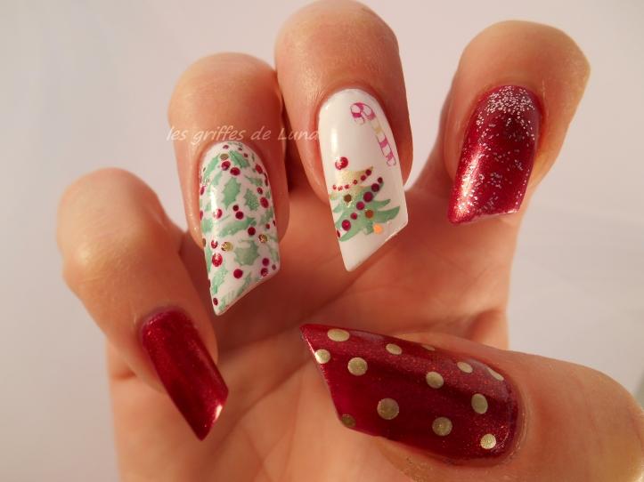 Nail art Noel 2 3