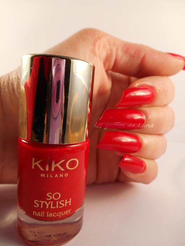 KIKO So stylish Apple red 1