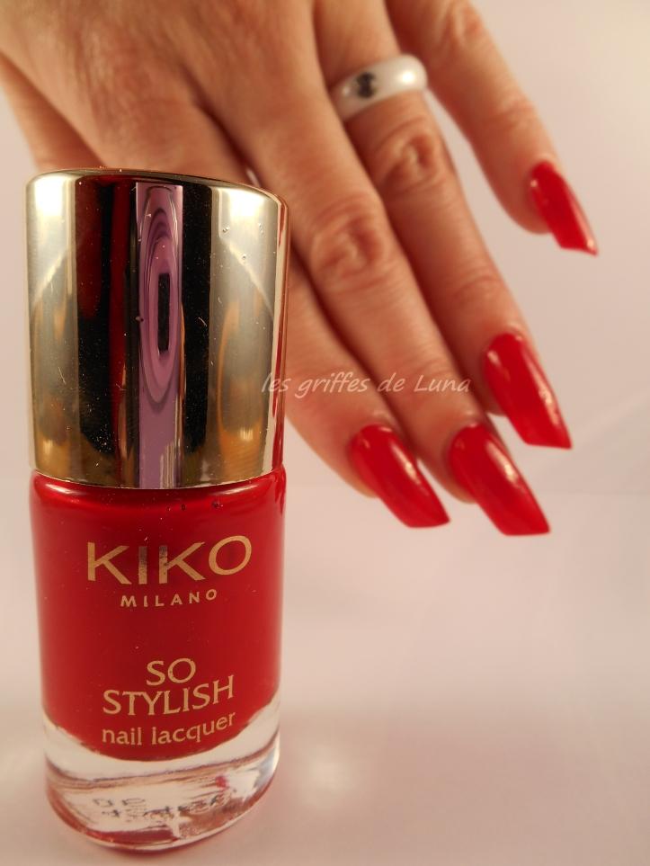 KIKO So stylish Apple red 2