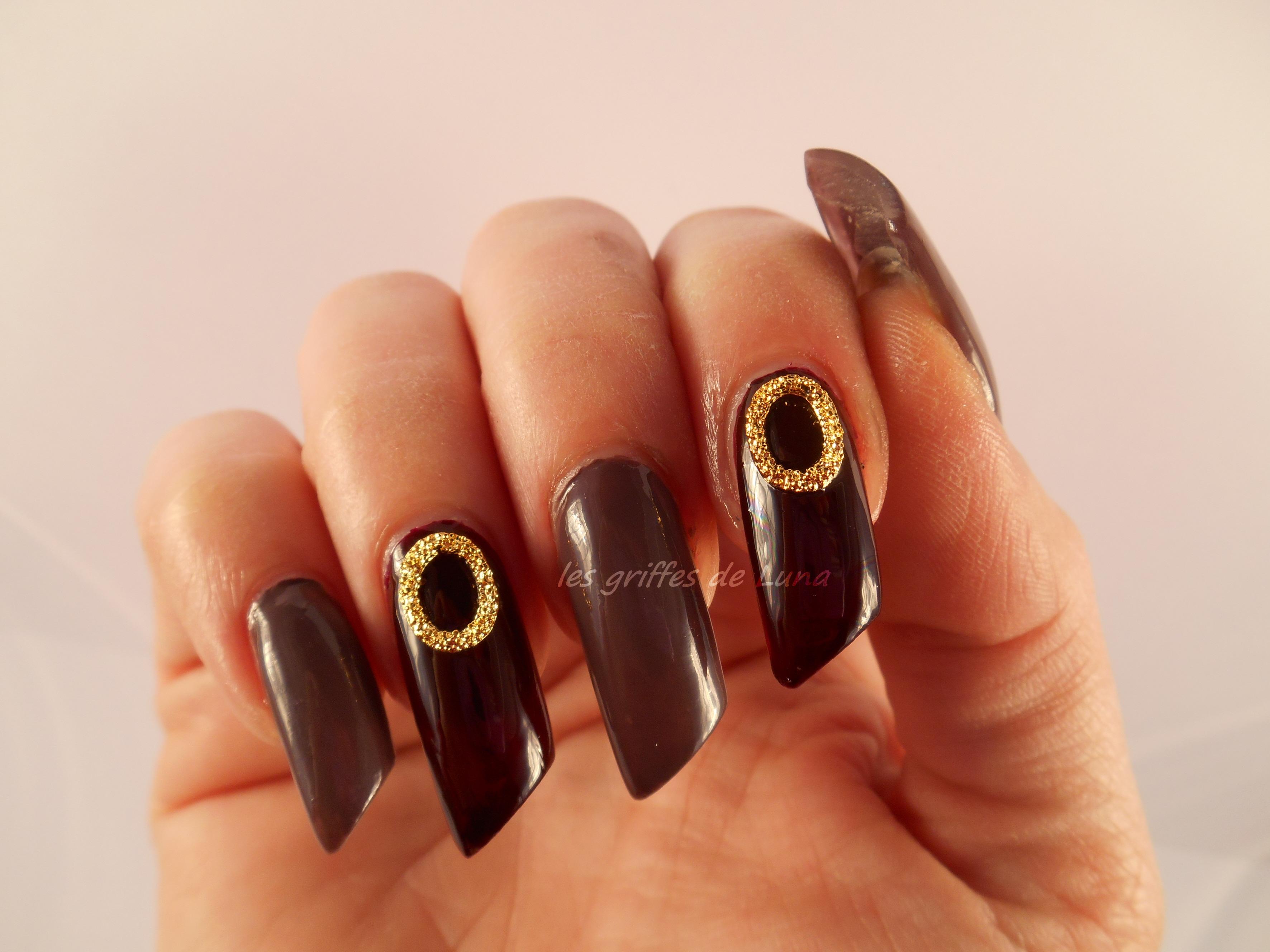 nail art so class les griffes de luna. Black Bedroom Furniture Sets. Home Design Ideas