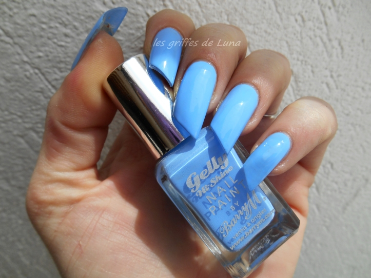 BARRY M Gelly Blueberry 1