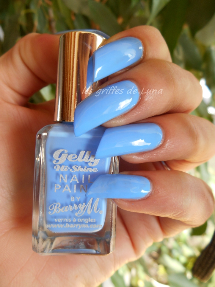 BARRY M Gelly Blueberry 2