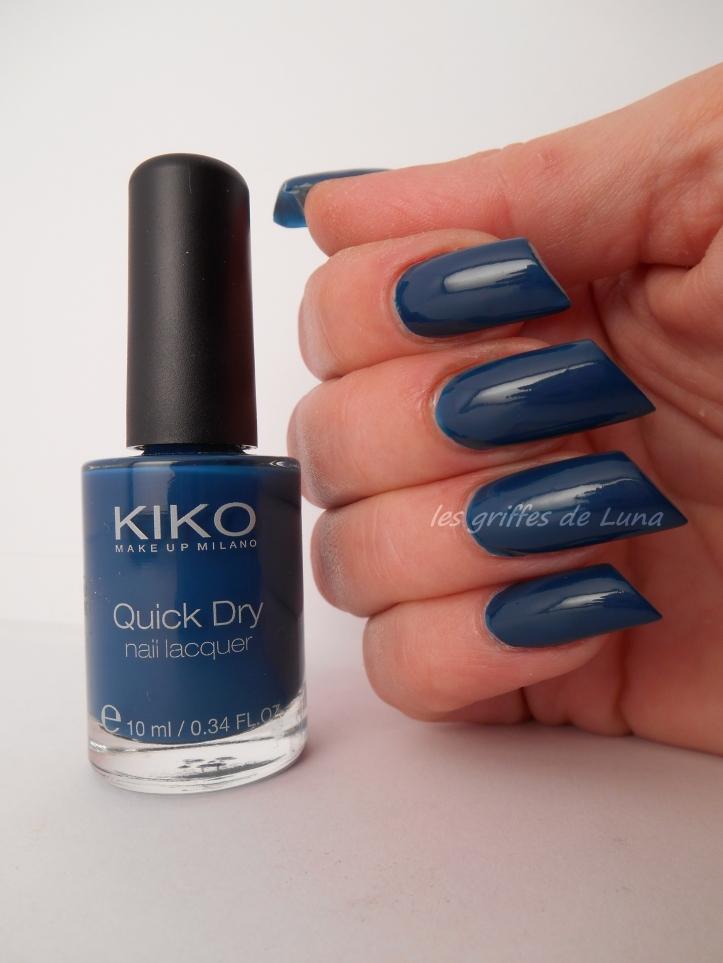 KIKO 838 bleu canard 1