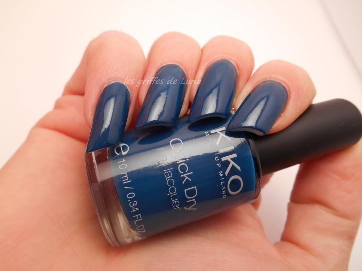KIKO 838 bleu canard 4