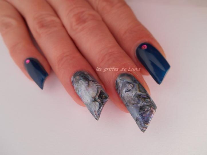 Nail art Foil nacré 4