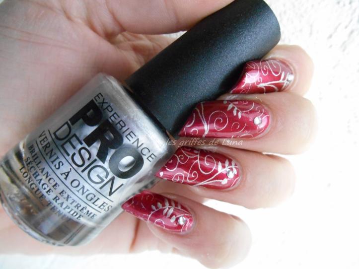 Nail art Romantique 2